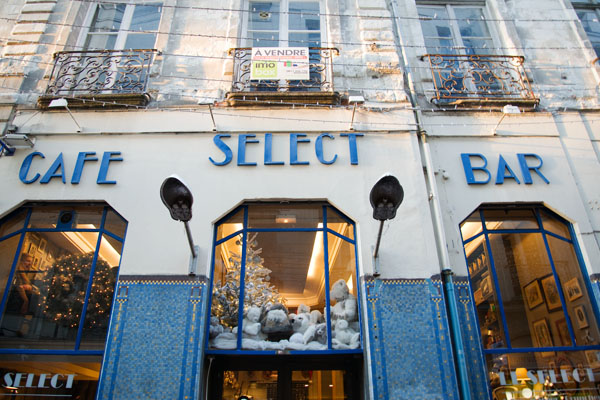 Le Select salon de thé à Nantes