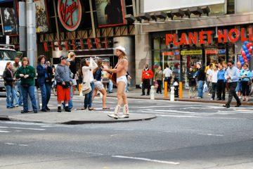 Naked Cowboy New York