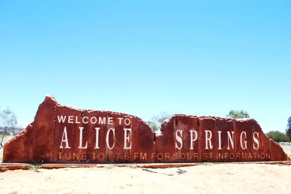 Alice Springs Australie