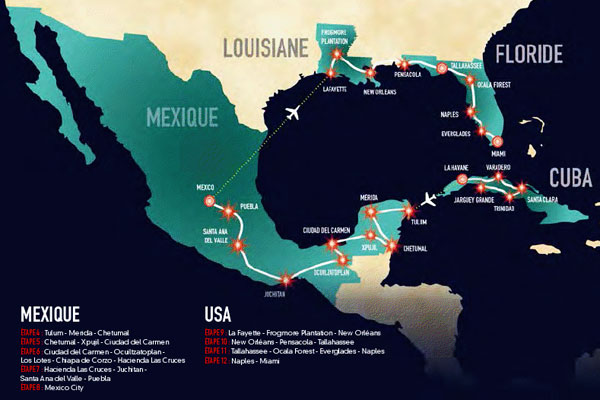 Pékin Express de Cuba à Miami