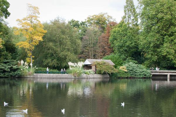 Lac du Kelsey Park à Beckenham