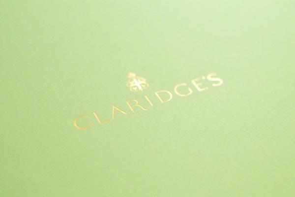 Afternoon Tea Claridge's Hotel Londres