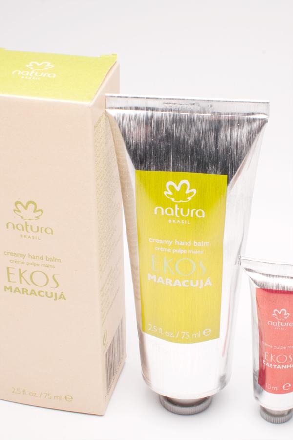 Crèmes pour les mains de Natura Brazil