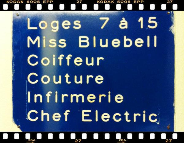 Lido de Paris / Revue Bonheur, les coulisses