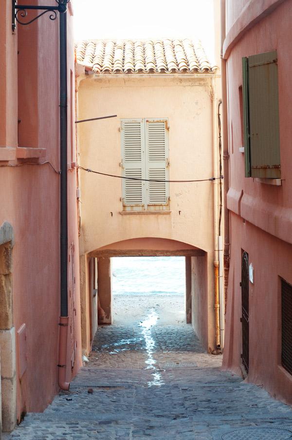 Saint Tropez dans le sud de la France