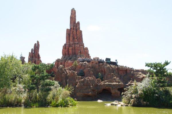 Le train de la mine Disneyland