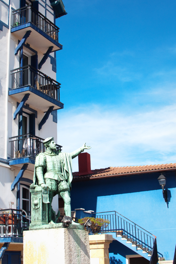 Getaria pays basque espagnol