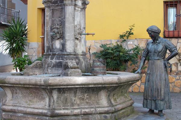 Centre ville de Zumaia Espagne