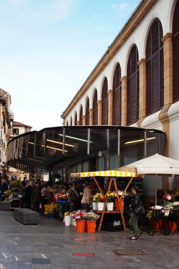 Le marché couvert de San Sebastian