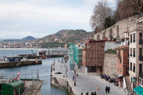 Le port de San Sebastian
