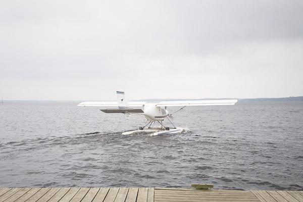 Baptême de l'air en Hydravion à Biscarosse