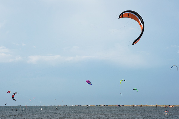 Beauduc kite surf