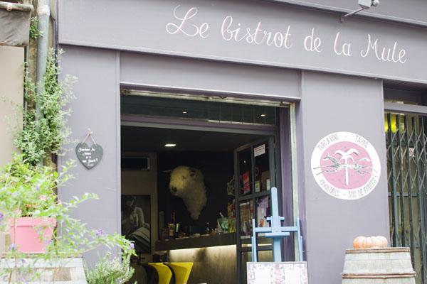 Restaurant La Mule Blanche Arles