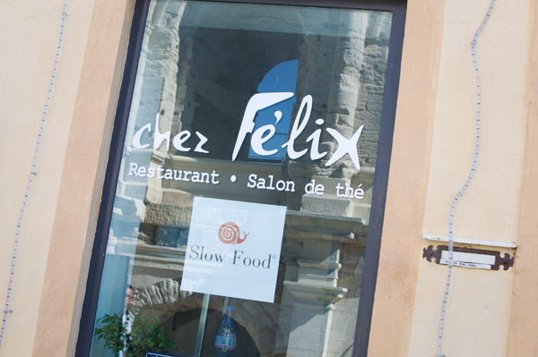 Chez Félix restaurant Arles