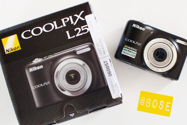 Appareil photo Nikon chez Bose Londres