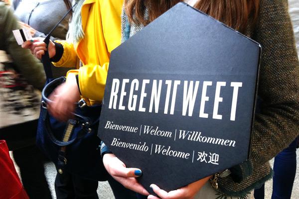 Regent Tweet 2013