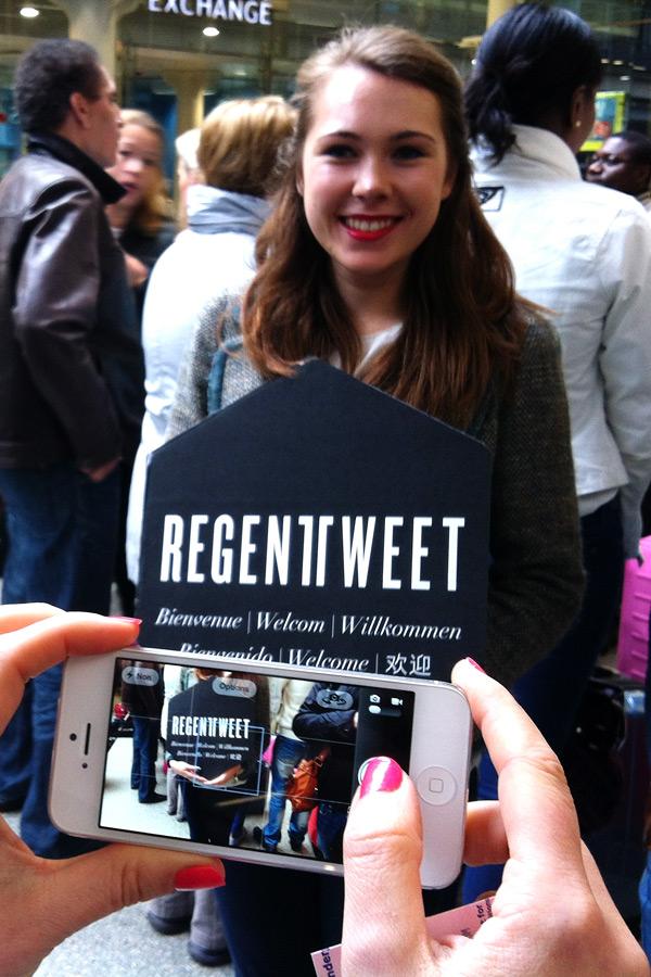 Regent Tweet Londres 2013