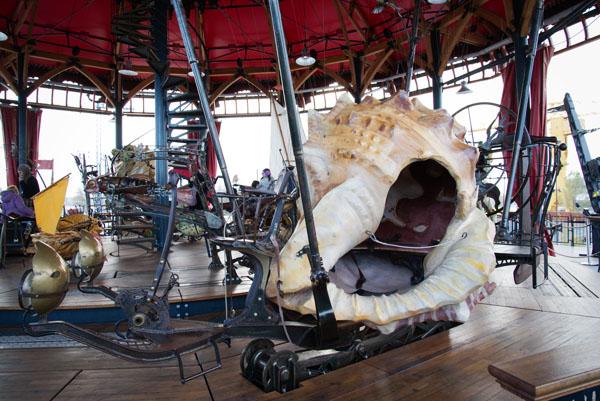 Les machines de l'île à Nantes