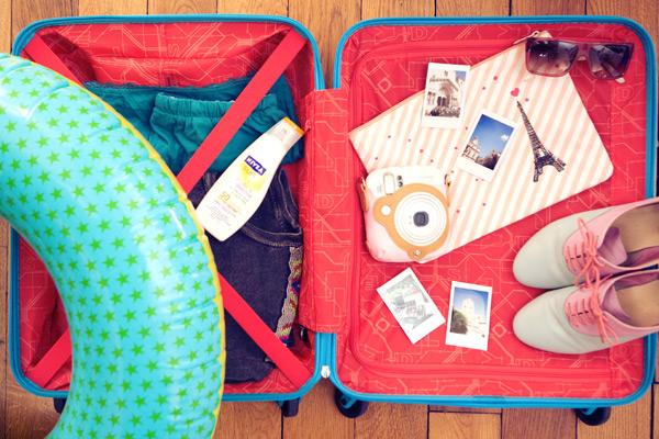 Quoi mettre dans sa valise de week-end ?