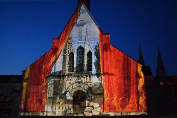Chartres en Lumières - Chapelle Sainte-Foy