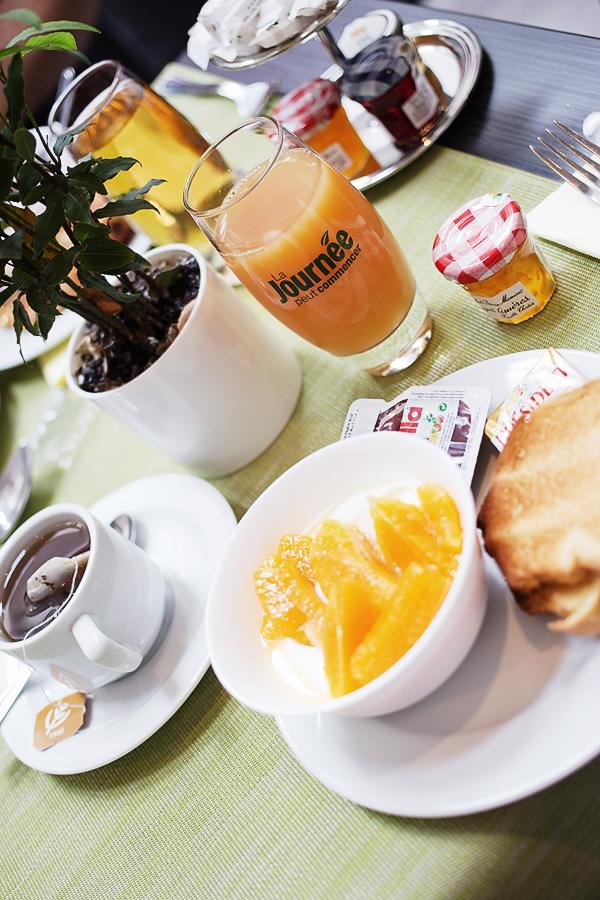 Petit dejeuner du Clarion St Honoré