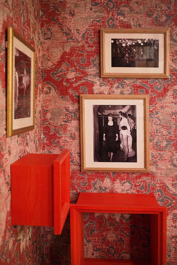 Hall d'entrée de l'Hôtel Joséphine Paris
