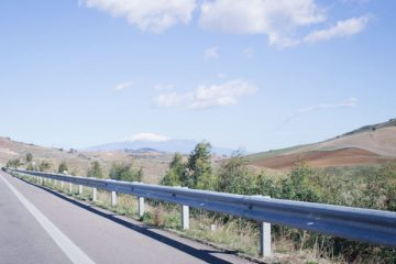 Cefalu vers Syracusa en passant par le Mont Etnaa