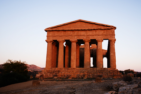 Vallée des Temples à Agrigento
