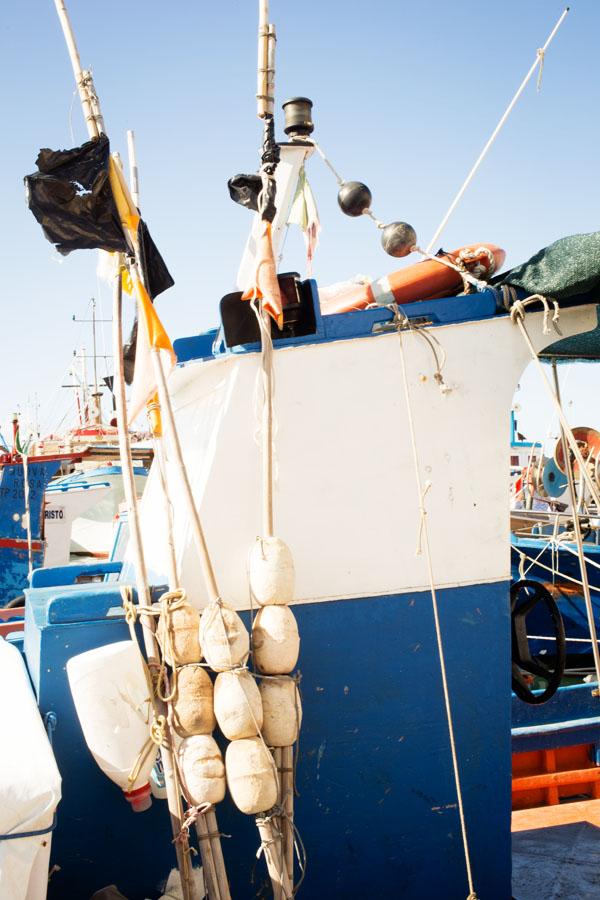 Port de pêche de Trapani, Sicile