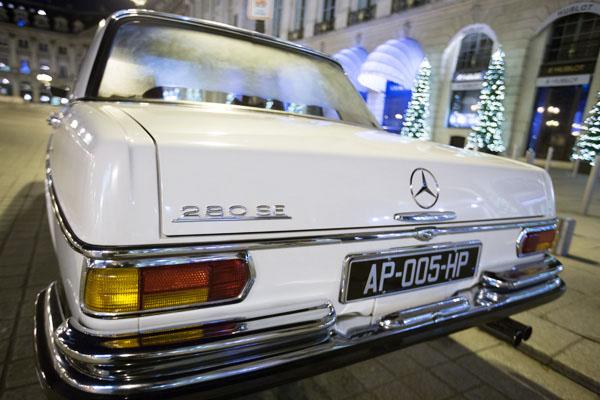 Paris Balade en Mercedes 280 SE