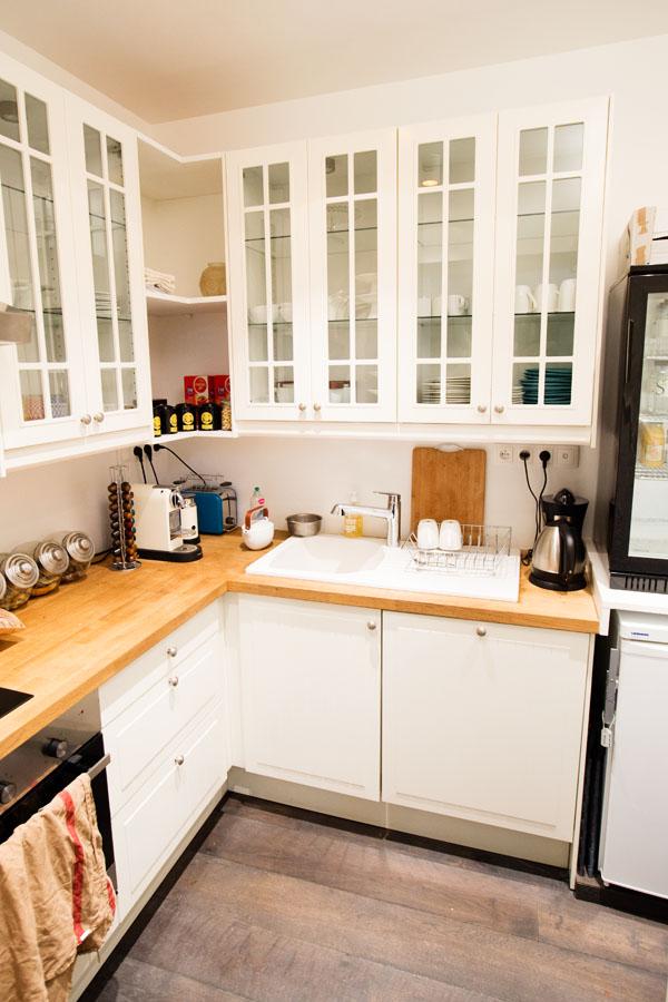 Hotel 1er Etage - La cuisine