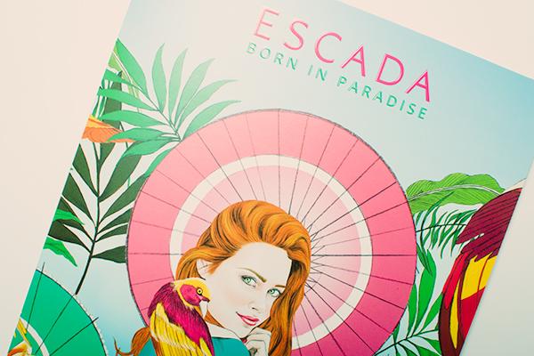 Escada parfum Born in Paradise