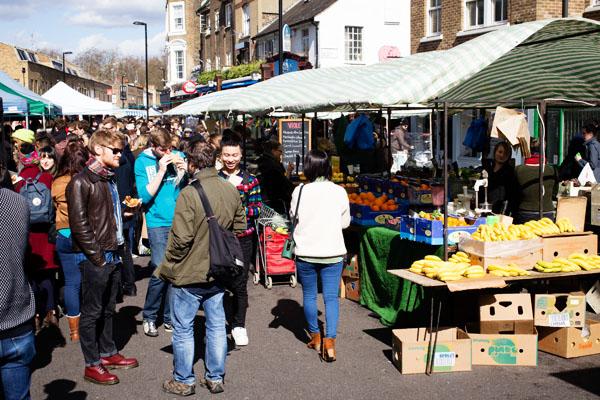 Broadway Market - Est de Londres