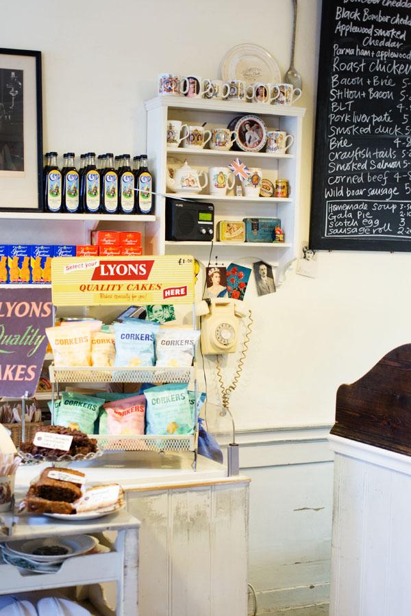 Cafés autour de Spitalfield