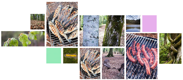 Gargano - pique-nique dans la Foresta Umbra