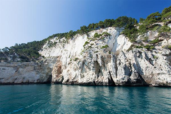 Gargano - Arrivée à Isola di Campi