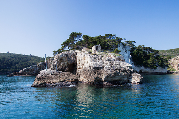 Gargano - Isola di Campi en bateau