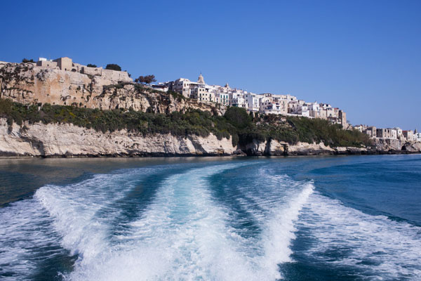 Gargano - Balade en bateau de Vieste