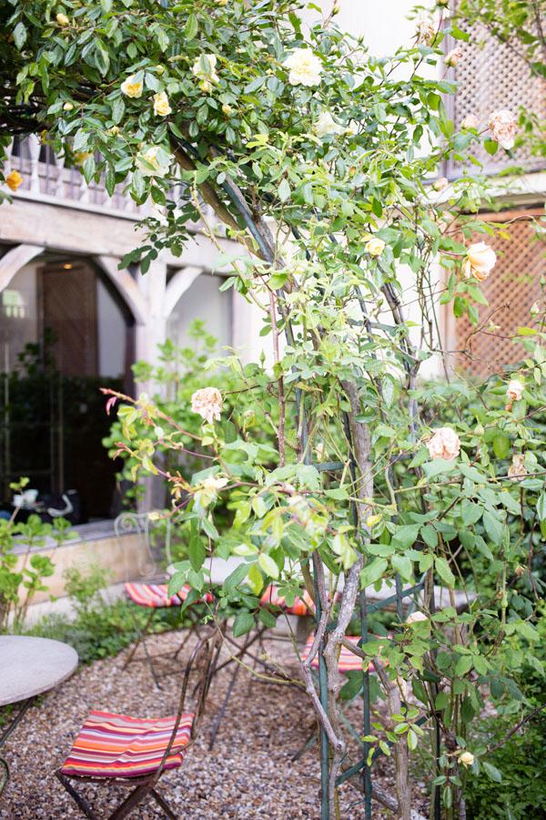 H tel les etangs de corot et spa caudalie reverdailleurs for Cuisine qui donne sur le jardin