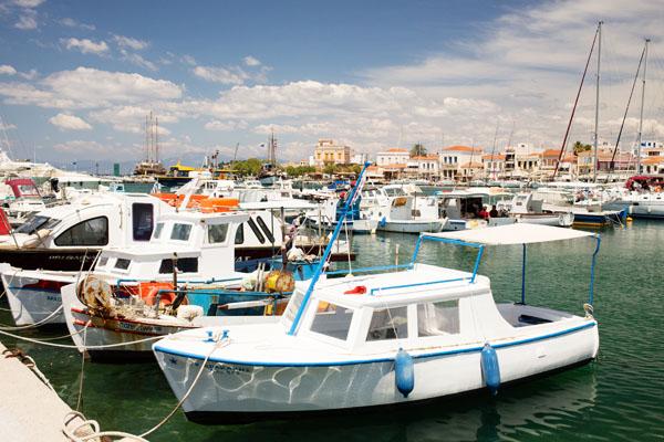 Port d'Egine en Grèce