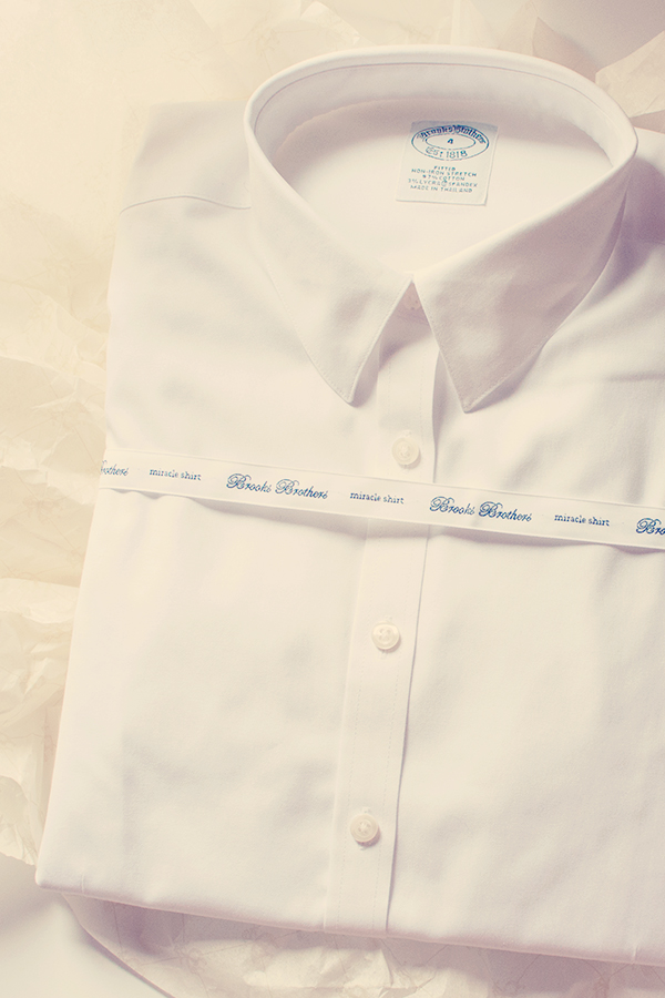 Chemise blanche Brooks Brothers