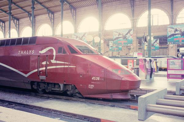Départ Paris Cologne en Thalys