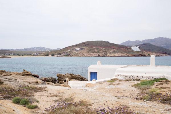 Plage de Ftélia à Mykonos