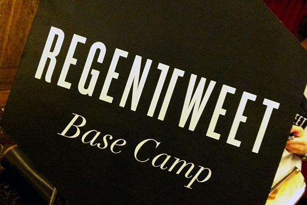 Regent Tweet base camp 2014