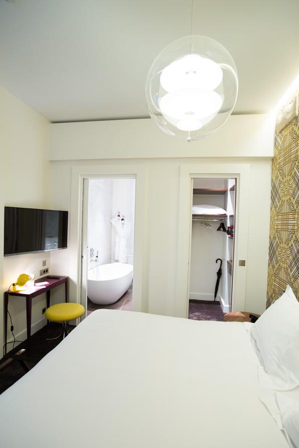 Hôtel Dupond-Smith - Chambre