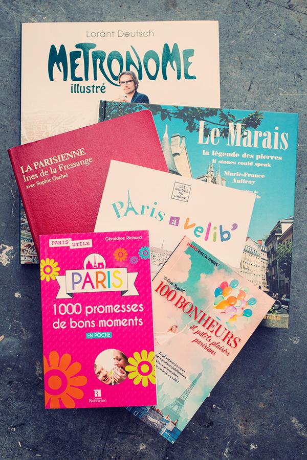 Ma bibliothèque sur Paris