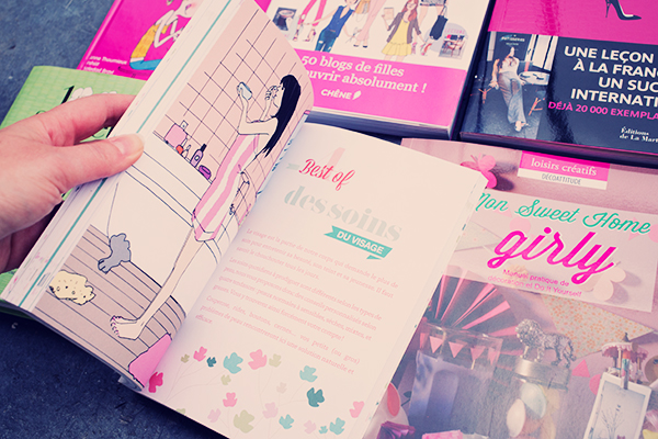 Ma bibliothèque de fille - DIY, nail art, beauté, thé