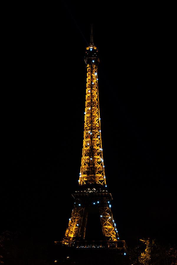Tour Eiffel scintillante