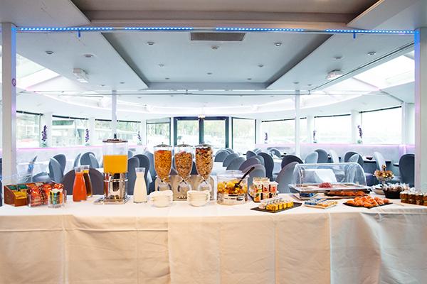 Petit-déjeuner du VIP Yacht Paris