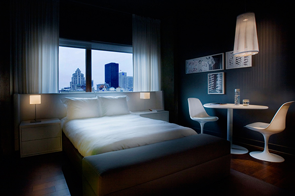 Chambre Hotel zéro 1 Montreal